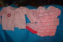 Little Beginnings 2PC Outfit Dress & Underpants SZ 6-9M Baby