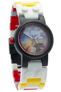 LEGO City 8020011 Fireman Kids Buildable Watch with Link Bra