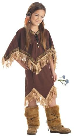 California Costumes Princess Wildflower Indian Girl Child Dr