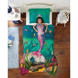 Dream Big Sea Princess Ultra Soft Microfiber 2-Piece Comfort