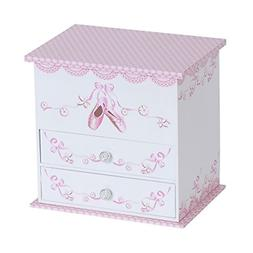 Mele & Co Angel Girls Ballerina Jewelry Box