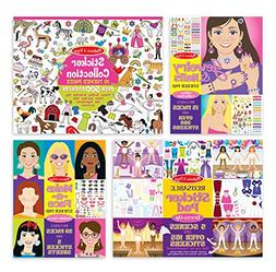 Melissa & Doug Sticker Pads Set: Jewelry and Nails, Dress-Up