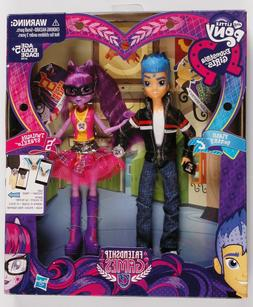 My Little Pony Equestria Girls Flash Sentry and Twilight Spa