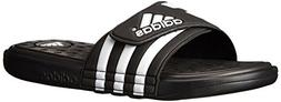 adidas adissage UF+ - Black/White/Black 11