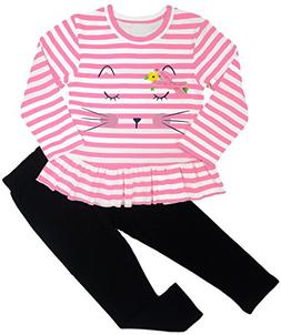 adorable cute toddler baby girl clothing 2pcs