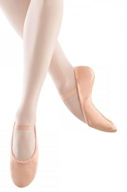 Adult Bloch Dansoft Full Leather Sole Ballet Slippers PINK S