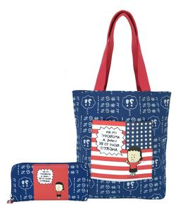 Angry Little Girls Angry American Tote bag