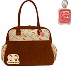 """Angry Little Girls Lela Lee Canvas Overnight Carrier """"Boy Ch"""