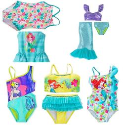 Disney Store Ariel Little Mermaid Swimsuit Girls Dress Up De