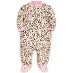 Little Me Baby Girl's Sleeper Sleepwear, kitty marshmallow/o