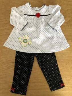 Little Me Baby Girls Outfit Nwt 12 Months