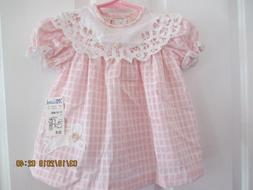 baby girls Little Bitty size 12 months dress