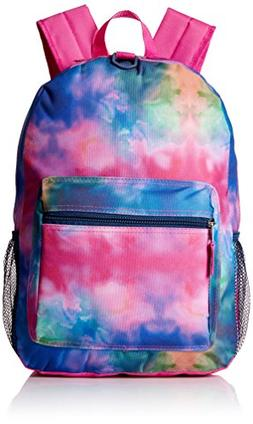 "17"" Kids' Backpack with Headphones - Watercolors"