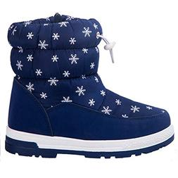 AMAWEI Boys Girls Little Kids/Big Kids Winter Snow Boots Out