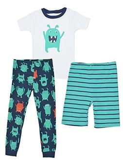 Carters Little Boys 3-Piece Pajama Set