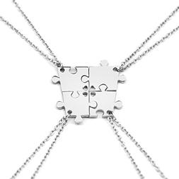 Charm.L Grace 4 Piece Best Friend Necklaces friendship Penda