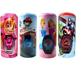 Childrens Kids Digital Wrist Watch in Money Bank Tin Choose
