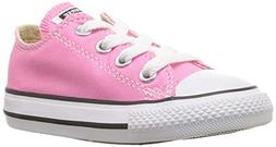 Converse Chuck Taylor All Star OX Shoe - Girls' Pink, 3.0