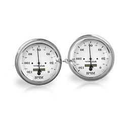 Classic Antique Car Speedometer Cuff Links in 18mm Stainless