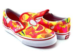 Vans CLASSIC SLIP ON Glitter Fruits Multi/White Little Girls