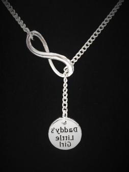 Daddy's Little Girl Necklace Daughter Mother's Day Gift Lari