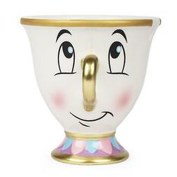 FAB Starpoint Disney Beauty and the Beast Chip Mug with Gold