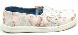 Disney X Toms Little Girls Classic Princess Slip On Shoes Pi