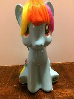 "FAB NY Hasbro My Little Pony Rainbow Dash 9.5"" Ceramic Coin"