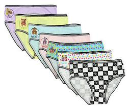 Five Nights at Freddys Little Girls 7 Pack Brief Style Panti