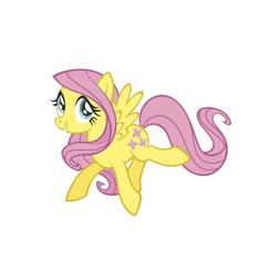RoomMates Fluttershy Peel and Stick Giant Wall Decals