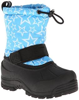 Northside Frosty Winter Boot ,Turquoise/White,11 M US Little