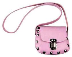Genuine Leather Little Girls' Studded Little Shoulder Bag Pu