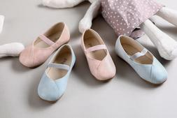 Toddler Girls Ballet Flats Ballerina Mary Jane Casual Shoes