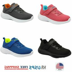 Girls Boys Kids Fashion Sneakers Breathable Comfort Running