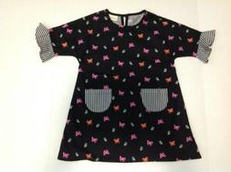 Girls Little Mooney Butterfly Dress Size 5-6