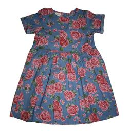 Girls Dresses Cotton Casual Fashion Flower Sunny, Little Gir