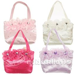 Girls Kids Little Lady Dress Up Handbag Evening Wedding Bag