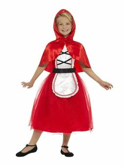 Girls Little Red Riding Hood Costume Halloween Red Fancy Dre
