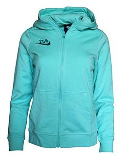 NIKE Girls Performance Full Zip Training Hoodie Zip Up Hoode