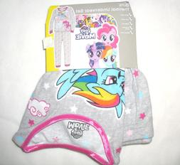 My Little Pony Girls Thermal Underwear Set 2-Pc Base Layer S