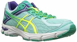 ASICS GT 1000 4 GS Running Shoe , Ice Blue/Flash