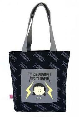 "ANGRY LITTLE GIRLS ""I SURVIVED AN ASIAN MOM"" TOTE GROCERY CA"