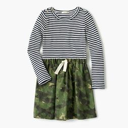 J. Crew Little Girls Army Navy Dress Size 5