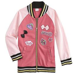 Jojo Siwa Little Girls' Never Quit Bows And Patch Varsity St