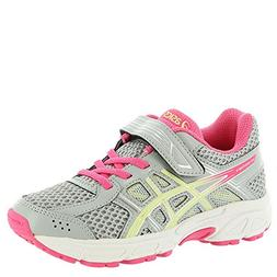 ASICS Kids Baby Girl's Gel-Contend 4 PS  Mid Grey/Limelight/