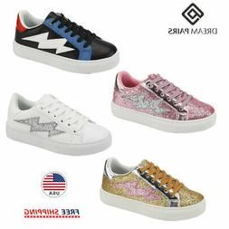 DREAM PAIRS Kids Boys Girls Casual Shoes Outdoor Sneakers At