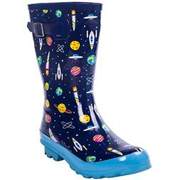 AMAWEI Kids Rain Boots for Boys Girls Baby/Toddler/Little Ki