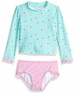 kiko and max little girls swimsuit set