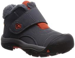 KEEN Kootenay Waterproof Winter Boot , Magnet/Koi, 7 M US To
