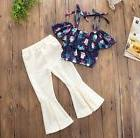 2 Piece Little Summer Outfit For Baby Girls and Toddlers